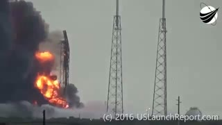 انفجار موشک حامل ماهواره اینترنت رایگان!