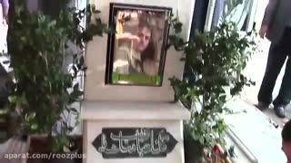 کارِ ارزشمند دکتر احمدی نژاد | حضور در مزار شهدا