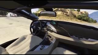 ویدئوی دانلود ماشین BMW I8 2015 برای بازی GTA V