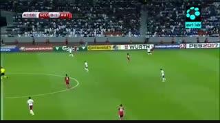 گرجستان ۱-۲ اتریش