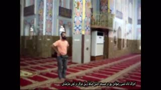 اجرای اذان توسط متین رضوانی پور در لحن مارضایی در مسجد جلیل خیاط اربیل عراق