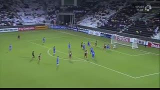قطر ۰-۱ ازبکستان