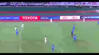 خلاصه بازی: تایلند ۰-۲ ژاپن