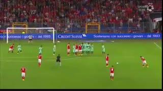 سوئیس ۲-۰ پرتغال