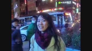 دختر کره ای ک فارسی صحبت میکنه تازه آهنگ لیلا فروهر هم میخونه