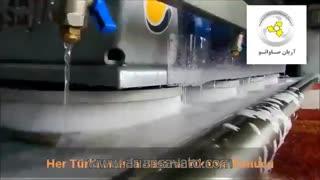 دستگاه قالیشویی اتوماتیک, تجهیزات قالیشویی اتوماتیک, شستشو و آبگیر اتومات فرش و قالی