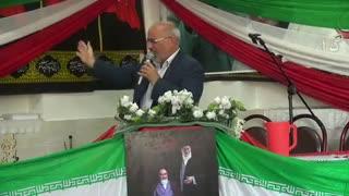سخنرانی آزاده سرافراز هژبری در یادواره شهدای طزنج