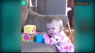 صحنه های تماشایی و خنده دار از کودکان