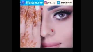 لنز دهب- کت آی | DibaLens.com-DHAB Cat Eye