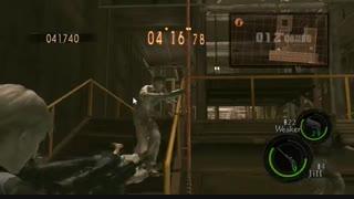 Resident evil 5-Mercenaries - jill and wesker