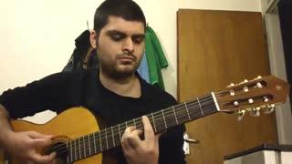 تنهائیام از شادمهر عقیلی با گیتار
