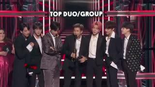 بیلبورد ۲۰۱۹ - بی تی اس برنده Top Duo/Group☆