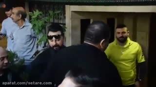 نذری دادن محمدرضا گلزار