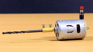 ۳ کاردستی خلاقانه با موتورهای DC (آرمیچر)