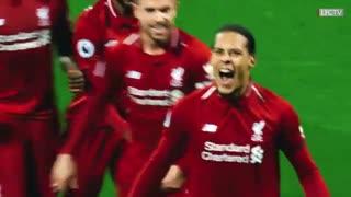 همه گلهای لیورپول در فصل 2018-2019 در لیگ برتر انگلیس