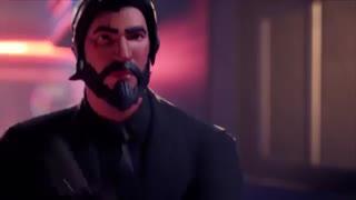 تریلر جان ویک در بازی فورتنایت - Fortnite - سه گوش