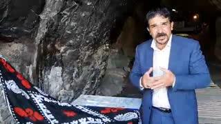 رونمایی جمجمه انسان هوشمند در غار کلدر لرستان با حضور استاندار