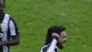 لحظات برتر آندرهآ پیرلو در سری آ ایتالیا