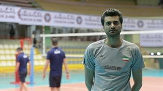 صحبتهای امیر غفور از دریچه دوربین فدراسیون والیبال