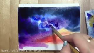 آموزش کشیدن نقاشی با آبرنگ