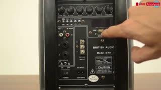 بلندگو اکتیو 15 اینچی بلوتوث دار-اجاره انواع تجهیزات  صوتی،باند و بلندگو