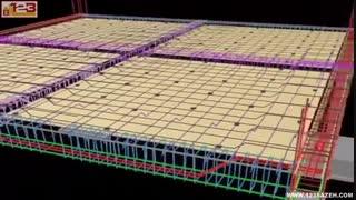 آموزش اجرای سقف دال بتنی