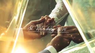 پروژه اماده شیشه خاطرات ازدواج Glass Wedding Memories