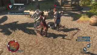 یه گیم پلی اکشن از بازی اساسین کرید آزادی Assassins Creed Liberation