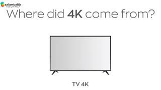 مقایسه 4K با 8K