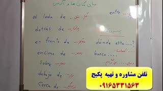 آموزش 100% تضمینی مکالمه اسپانیایی-استاد علی کیانپور