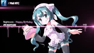 Nightcore - Happy Birthday ( تقدیمی ❤️)