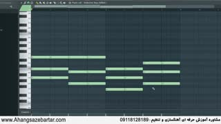 آموزی آهنگسازی و تنظیم - ساخت ملودی، ترانه و آکورد
