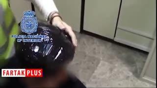 شگرد عجیب قاچاقچی برای حمل مواد مخدر!