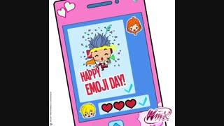 روز جهانی ایموجی !!!!!+خواهشا توضیحات