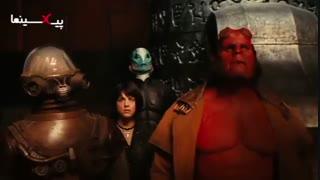 فیلم پسر جهنمی ، سکانس مبارزه پسر جهمی با سامویل (Hellboy,۲۰۰۴)