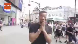 چالش پرش رونالدو در خیابان های پاریس
