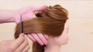 آموزش مدل مو دخترانه پیچ و تاب رولی- مومیس مشاور و مرجع تخصصی مو