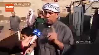 دبیر شورای امنیت ملی در جمع سیل زدگان خوزستان