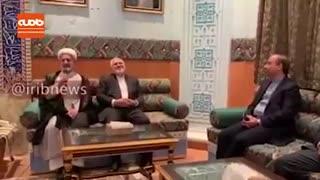 دیدار وزیر امورخارجه کشورمان با ایرانیان و فعالان اقتصادی عمان