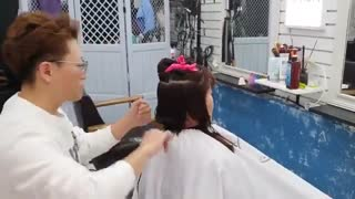 آموزش مدل مو کوتاه با حاشیه قوس دار- مومیس مشاور و مرجع تخصصی مو