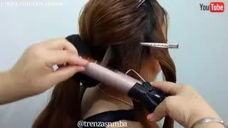 آموزش مدل مو دخترانه شب مجلسی- مومیس مشاور و مرجع تخصصی مو