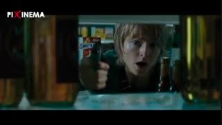 فیلم شجاع ، سکانس شلیک اریکا (جودی فاستر) به قاتل در سوپرمارکت