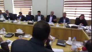 جلسه سازمان همیاری و شهرداران استان به ریاست آشناگر، استاندار سمنان - سالن جلسات غدیر