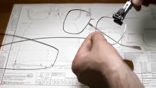 نحوه ی ساخت عینک  های برند دیور Dior