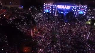 کنسرت شنیدنی حماقی در قاهره و طرفدارانی که جایی برای سوزن انداختن باقی نگذاشتند