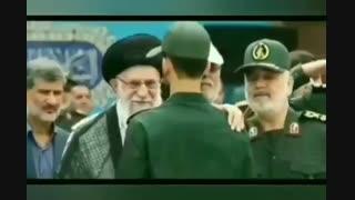 نماهنگ  دلارام حامد زمانی حضور آقا در دانشگاه  افسری امام حسین (ع)