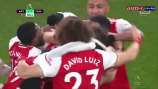 گلهای بازی ارسنال 2 - منچستریونایتد 0