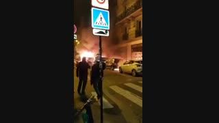 پاریس به آتش کشیده شدن 1000 خودرو در شب اول سال میلادی 2020(بهشت رویایی غرب)