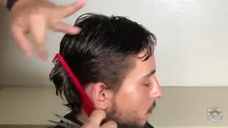 آموزش مدل مو مردانه کلاسیک پر برش- مومیس مشاور و مرجع تخصصی مو