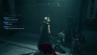 گیمپلی دموی بازی Final Fantasy 7 Remake لو رفت